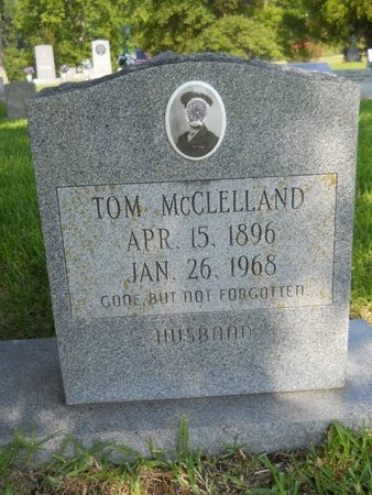 MCCLELLAND, TOM - Warren County, Mississippi | TOM MCCLELLAND - Mississippi Gravestone Photos