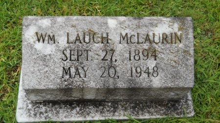 MCLAURIN, WILLIAM LAUCH - Warren County, Mississippi | WILLIAM LAUCH MCLAURIN - Mississippi Gravestone Photos