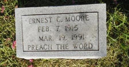 MOORE, ERNEST C - Warren County, Mississippi   ERNEST C MOORE - Mississippi Gravestone Photos