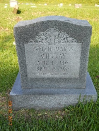 MURRAY, EVELYN - Warren County, Mississippi | EVELYN MURRAY - Mississippi Gravestone Photos