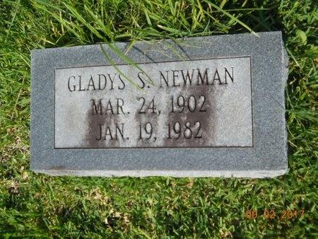 NEWMAN, GLADYS S - Warren County, Mississippi | GLADYS S NEWMAN - Mississippi Gravestone Photos