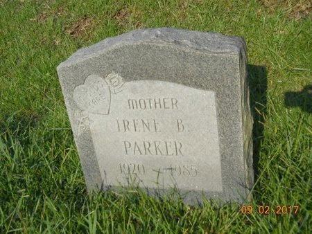 PARKER, IRENE B - Warren County, Mississippi | IRENE B PARKER - Mississippi Gravestone Photos