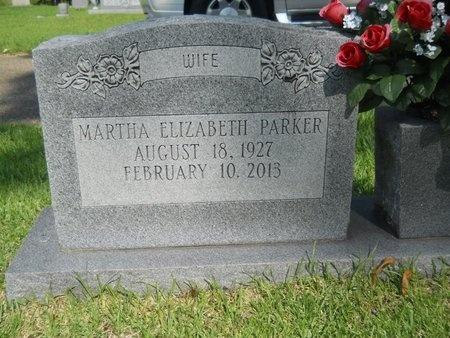 PARKER, MARTHA ELIZABETH - Warren County, Mississippi | MARTHA ELIZABETH PARKER - Mississippi Gravestone Photos