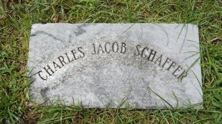 SCHAFFER, CHARLES JACOB - Warren County, Mississippi | CHARLES JACOB SCHAFFER - Mississippi Gravestone Photos