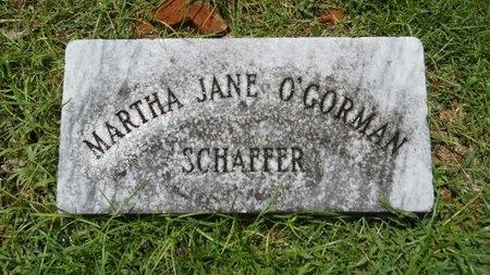 SCHAFFER, MARTHA JANE - Warren County, Mississippi | MARTHA JANE SCHAFFER - Mississippi Gravestone Photos