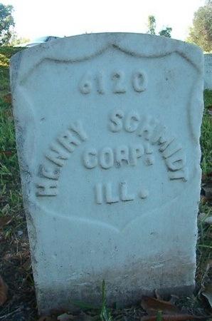 SCHMIDT (VETERAN UNION), HENRY (NEW) - Warren County, Mississippi | HENRY (NEW) SCHMIDT (VETERAN UNION) - Mississippi Gravestone Photos