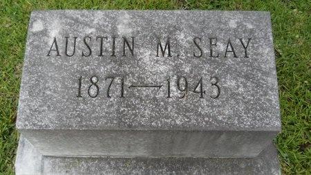 SEAY, AUSTIN M - Warren County, Mississippi | AUSTIN M SEAY - Mississippi Gravestone Photos