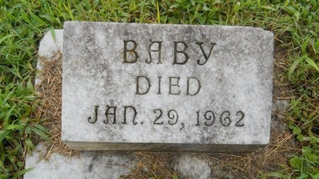 SEAY, BABY - Warren County, Mississippi | BABY SEAY - Mississippi Gravestone Photos