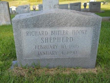 SHEPHERD, RICHARD BUTLER HOOKE - Warren County, Mississippi | RICHARD BUTLER HOOKE SHEPHERD - Mississippi Gravestone Photos