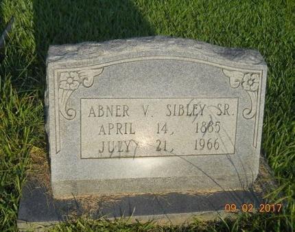 SIBLEY, ABNER VICTOR., SR - Warren County, Mississippi   ABNER VICTOR., SR SIBLEY - Mississippi Gravestone Photos