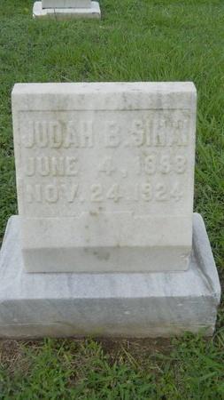 SINAI, JUDAH B - Warren County, Mississippi | JUDAH B SINAI - Mississippi Gravestone Photos