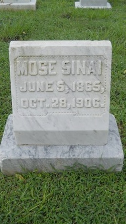 SINAI, MOSE - Warren County, Mississippi | MOSE SINAI - Mississippi Gravestone Photos