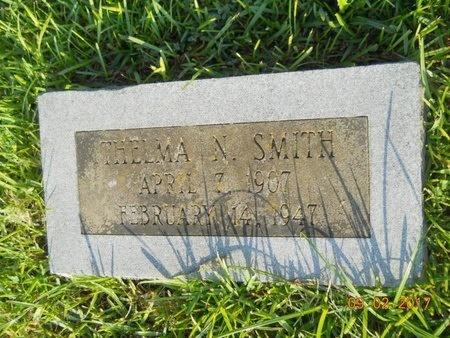 SMITH, THELMA N - Warren County, Mississippi | THELMA N SMITH - Mississippi Gravestone Photos