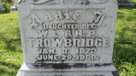 TROWBRIDGE, ADDIE JOSEPHINE (CLOSEUP) - Warren County, Mississippi | ADDIE JOSEPHINE (CLOSEUP) TROWBRIDGE - Mississippi Gravestone Photos