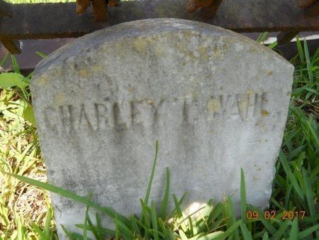 WAHL, CHARLEY T - Warren County, Mississippi | CHARLEY T WAHL - Mississippi Gravestone Photos