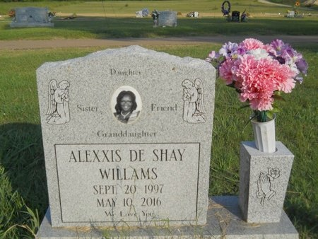 WILLIAMS, ALEXXIS DE SHAY (OBIT) - Warren County, Mississippi | ALEXXIS DE SHAY (OBIT) WILLIAMS - Mississippi Gravestone Photos