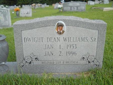 WILLIAMS, DWIGHT DEAN, SR - Warren County, Mississippi   DWIGHT DEAN, SR WILLIAMS - Mississippi Gravestone Photos