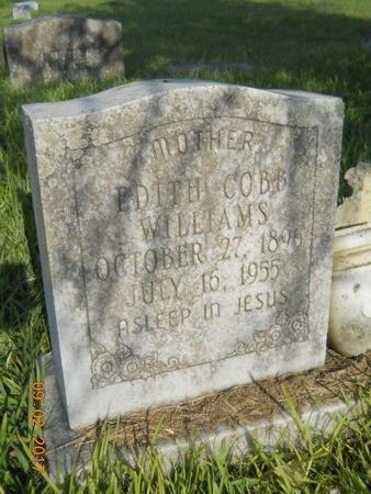 WILLIAMS, EDITH - Warren County, Mississippi | EDITH WILLIAMS - Mississippi Gravestone Photos