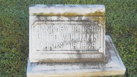 WILLIAMS, KEITH - Warren County, Mississippi | KEITH WILLIAMS - Mississippi Gravestone Photos