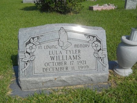 WILLIAMS, LULA - Warren County, Mississippi | LULA WILLIAMS - Mississippi Gravestone Photos