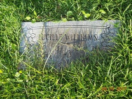 WILLIAMS, LUCILLE - Warren County, Mississippi   LUCILLE WILLIAMS - Mississippi Gravestone Photos