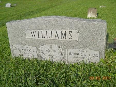 WILLIAMS, FLORINE - Warren County, Mississippi | FLORINE WILLIAMS - Mississippi Gravestone Photos