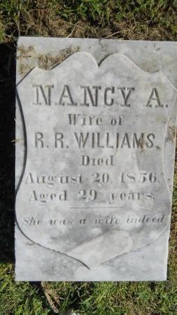 WILLIAMS, NANCY A - Warren County, Mississippi | NANCY A WILLIAMS - Mississippi Gravestone Photos