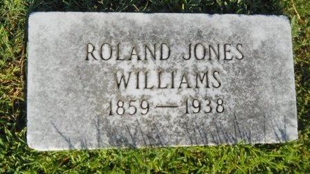 WILLIAMS, ROLAND JONES - Warren County, Mississippi   ROLAND JONES WILLIAMS - Mississippi Gravestone Photos