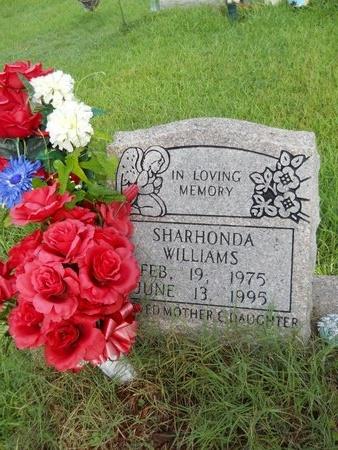 WILLIAMS, SHARHONDA - Warren County, Mississippi   SHARHONDA WILLIAMS - Mississippi Gravestone Photos