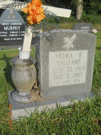 WILLIAMS, VELMA R - Warren County, Mississippi | VELMA R WILLIAMS - Mississippi Gravestone Photos