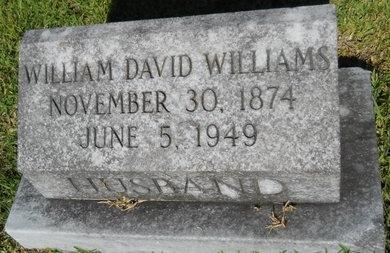 WILLIAMS, WILLIAM DAVID - Warren County, Mississippi | WILLIAM DAVID WILLIAMS - Mississippi Gravestone Photos