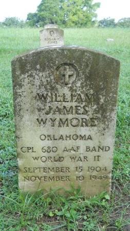 WYMORE (VETERAN WWII), WILLIAM JAMES (NEW) - Warren County, Mississippi | WILLIAM JAMES (NEW) WYMORE (VETERAN WWII) - Mississippi Gravestone Photos