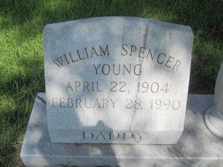 YOUNG, WILLIAM SPENCER - Warren County, Mississippi | WILLIAM SPENCER YOUNG - Mississippi Gravestone Photos