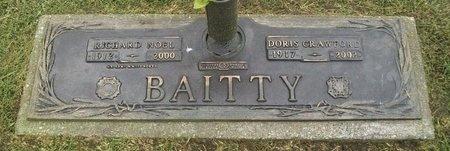 CRAWFORD BAITTY, DORIS BEATRICE - Adair County, Missouri | DORIS BEATRICE CRAWFORD BAITTY - Missouri Gravestone Photos
