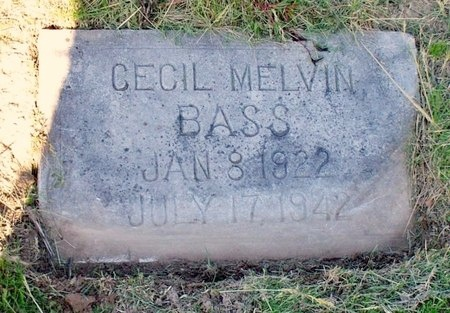 BASS, CECIL MELVIN - Adair County, Missouri   CECIL MELVIN BASS - Missouri Gravestone Photos