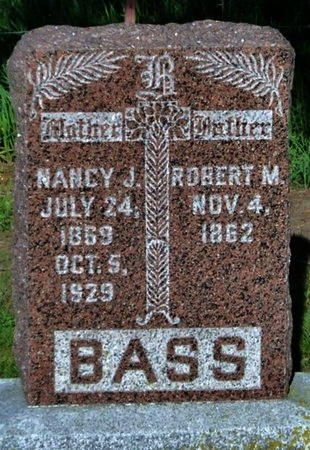 BASS, NANCY JANE - Adair County, Missouri | NANCY JANE BASS - Missouri Gravestone Photos