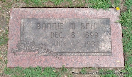 BELL, BONNIE M - Adair County, Missouri   BONNIE M BELL - Missouri Gravestone Photos