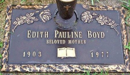 BOYD, EDITH PAULINE - Adair County, Missouri   EDITH PAULINE BOYD - Missouri Gravestone Photos