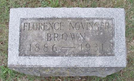 BROWN, FLORENCE - Adair County, Missouri   FLORENCE BROWN - Missouri Gravestone Photos