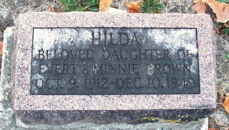 BROWN, HILDA GRACE - Adair County, Missouri | HILDA GRACE BROWN - Missouri Gravestone Photos