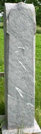 ALLEN BURCHETT, ELPHA REBECCA - Adair County, Missouri   ELPHA REBECCA ALLEN BURCHETT - Missouri Gravestone Photos