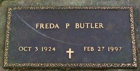 BUTLER, FREDA PEARL - Adair County, Missouri   FREDA PEARL BUTLER - Missouri Gravestone Photos