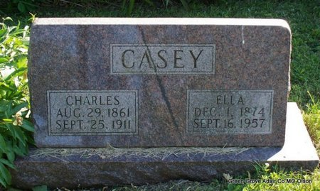 CASEY, ELLA - Adair County, Missouri | ELLA CASEY - Missouri Gravestone Photos