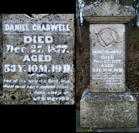 CHADWELL, DANIEL - Adair County, Missouri | DANIEL CHADWELL - Missouri Gravestone Photos