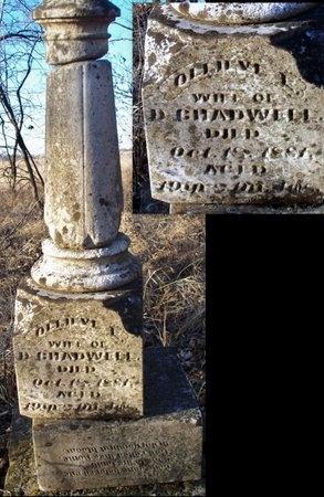 CHADWELL, OLLIEVE E - Adair County, Missouri   OLLIEVE E CHADWELL - Missouri Gravestone Photos