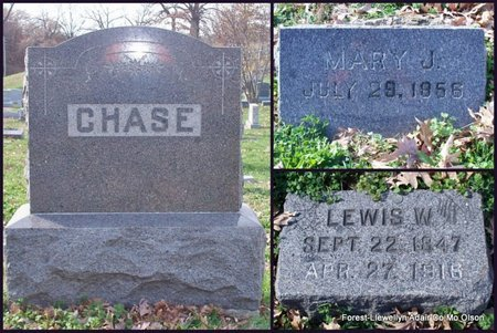CHASE, MARY JANE - Adair County, Missouri | MARY JANE CHASE - Missouri Gravestone Photos