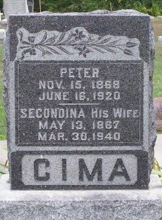 CIMA, SECONDINA - Adair County, Missouri | SECONDINA CIMA - Missouri Gravestone Photos