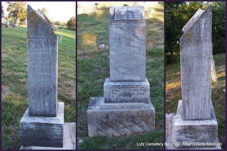 CLARK, ELIZABETH - Adair County, Missouri | ELIZABETH CLARK - Missouri Gravestone Photos