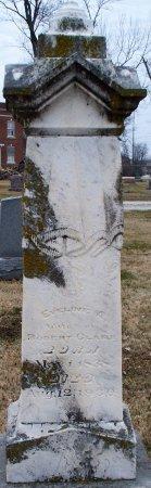 CLARK, EVELINE AMELIA - Adair County, Missouri | EVELINE AMELIA CLARK - Missouri Gravestone Photos