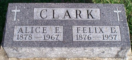 MULDOON CLARK, ALICE E - Adair County, Missouri | ALICE E MULDOON CLARK - Missouri Gravestone Photos